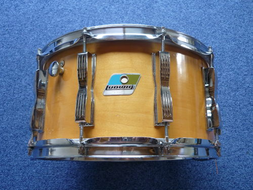 "Ludwig Thermogloss snare 14""x 7"" from 1979, rare!"