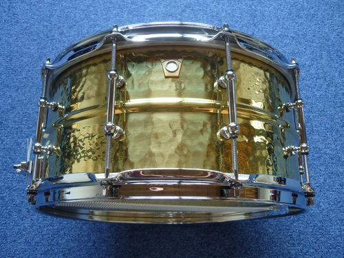 "Ludwig LB422BKT 14"" x 6.5"" Hammered Brass"
