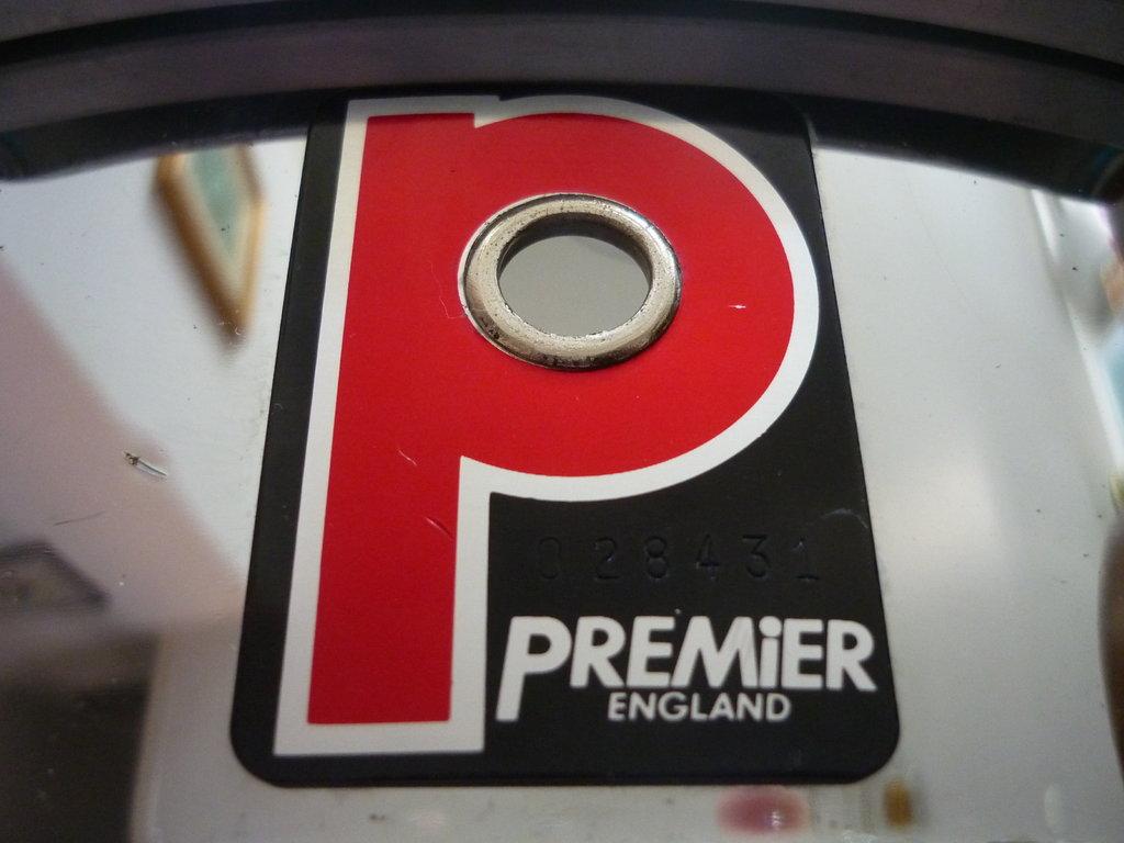 Premier Steel Snare 14 X 6 5 Quot Purple Chord Classic