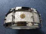 Gretsch USA Maple 120th Anniversary Snare Drum White Marine Pearl