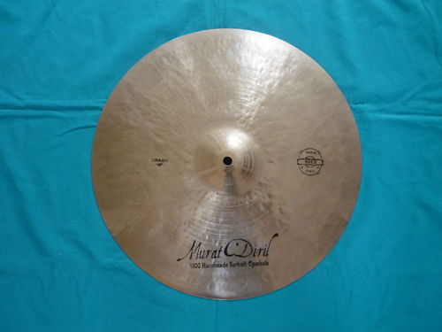 "116"" Murat Diril Rock Crash Turkish Cymbal"