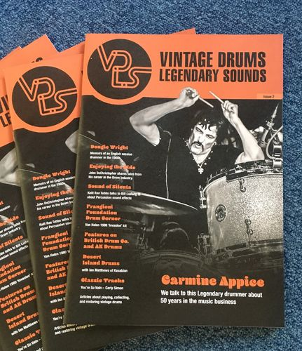 Vintage Drums Legendary Sounds Magazine Issue 2