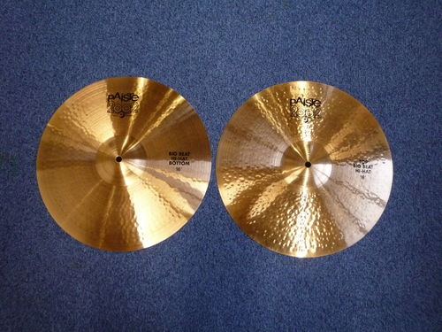 "16"" Paiste 2002 Big Beat Hi-Hat from 2016"