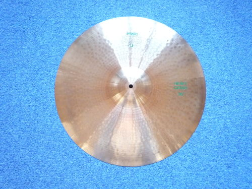 "20"" Paiste 505 Ride green logo, 2225 grams from 1984"