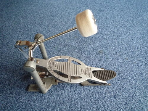 1960's Ludwig Speedking bass drum Pedal, new Ludwig beater