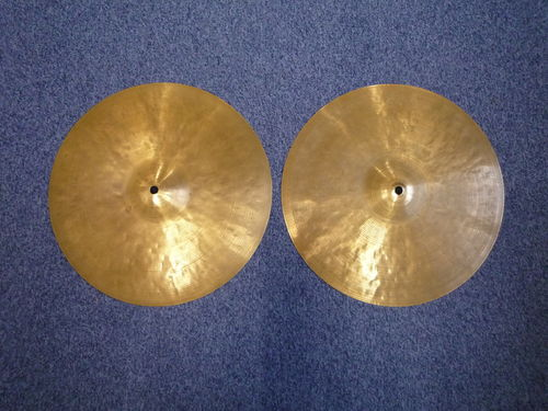 "14"" Zildjian K Istanbul Hi-Hat New Stamp, 1036 and 977 grams"