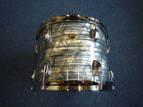 "Ludwig Classic Maple Tom 12"" x 9"", sky blue pearl, from 2012"