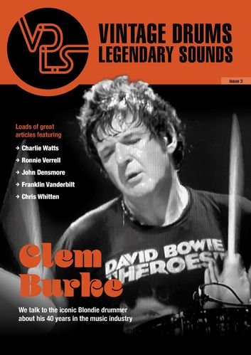 Vintage Drums Legendary Sounds Magazine Issue 3