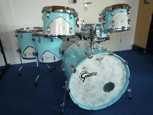 Gretsch Drums Renown '57 Motor City Blue 6-pieces shellset + throne