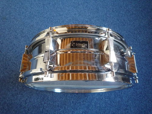 "Sonor D454 Ferro Manganese snare drum 14"" x 5"" from 1970's"
