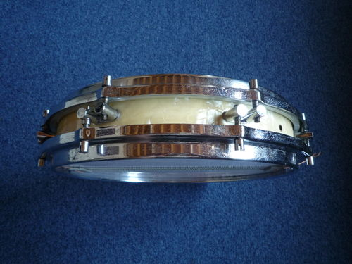 "1960's Sonor Pancake Snare Drum D472, 14"" x 2,5"" wood shell WMP"