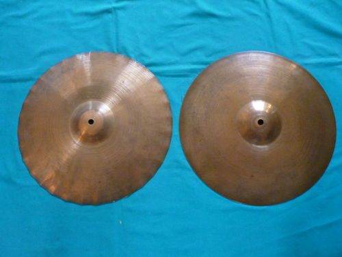 "14"" Paiste 2002 Sound Edge Hi-Hat, black logo 1981"