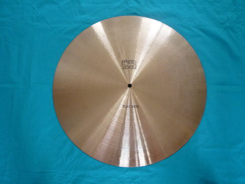 "20"" Paiste Flat Ride black logo, cymbal from 1978"