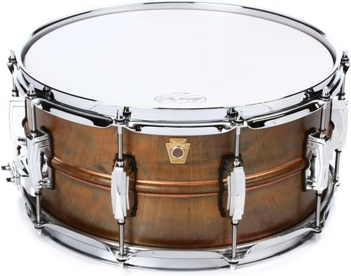 "Copperphonic snare 14"" x 6,5"" Raw Patina LC663"