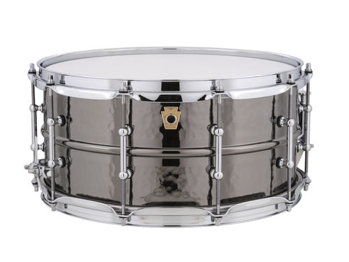 Black Beauty Brass Shell Snare Drum LB417KT