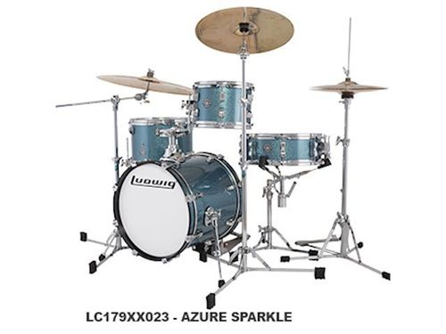 Ludwig Breakbeats by Questlove Azure Sparkle 4pc LC179X023