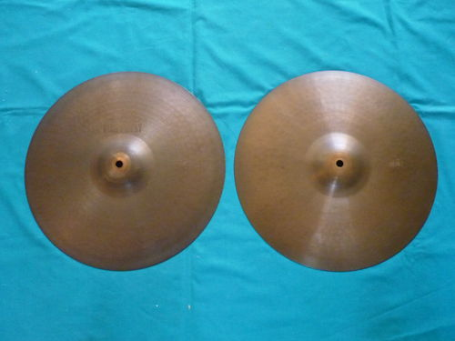 "14"" Paiste Giant Beat vintage Hi-Hat from 1973"