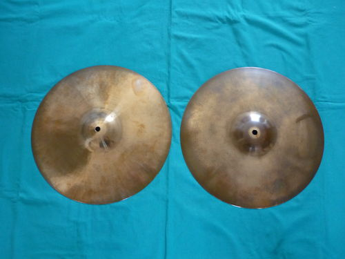"14"" Paiste Giant Beat Hi-Hat 1973"