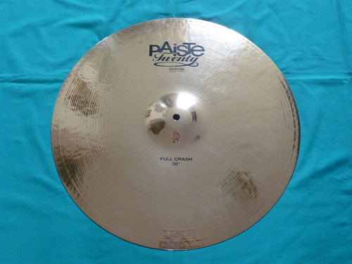 "20"" Paiste Twenty Custom Full Crash 2164 grams"