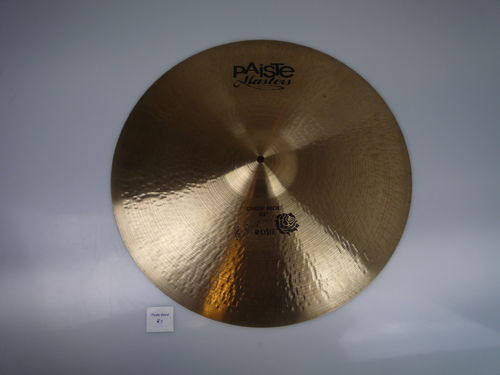 "22"" Paiste Twenty Masters Rosie Crisp Ride 3311 gr from 2012"