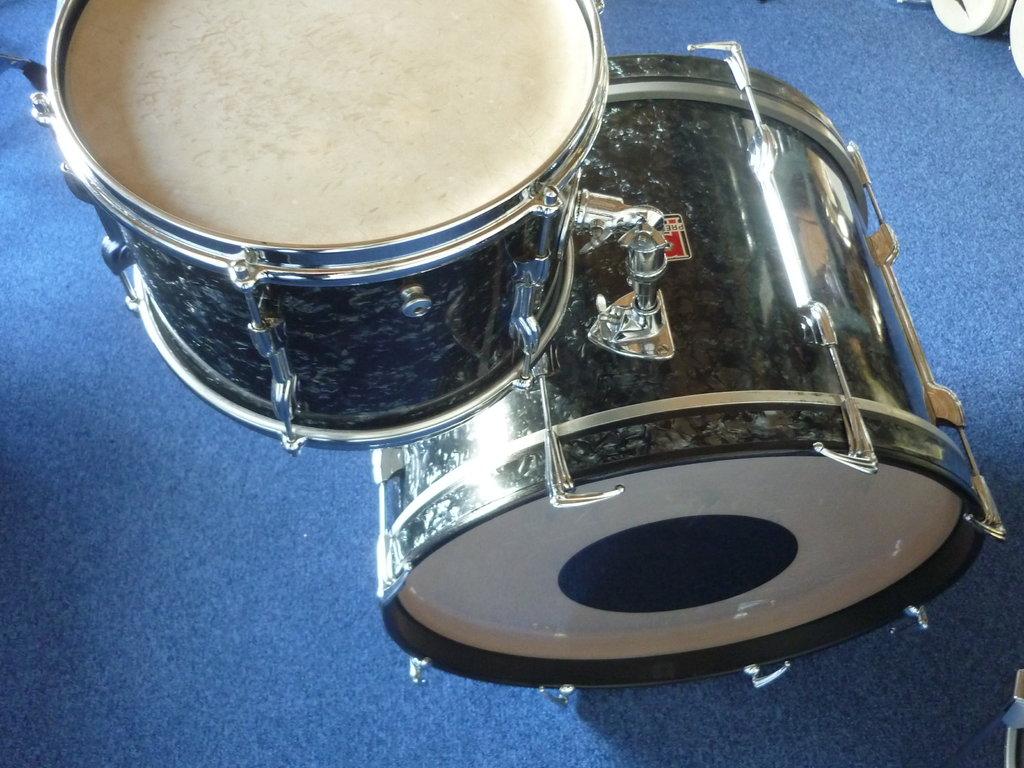 1960s Premier Drumset 20 Quot 12 Quot 16 Quot Piccolo Snare Purple