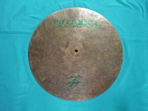 "18"" Flat Ride, Agop Signature Series"