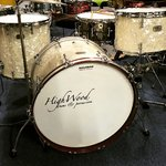 "Highwood custom hand made drumset 22"", 13"", 16"", made in England"