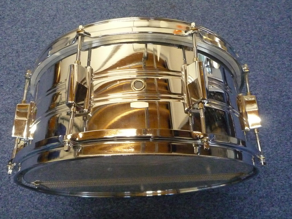 Pearl Export Metal Snare 14 Quot X 6 5 Quot Made In Japan