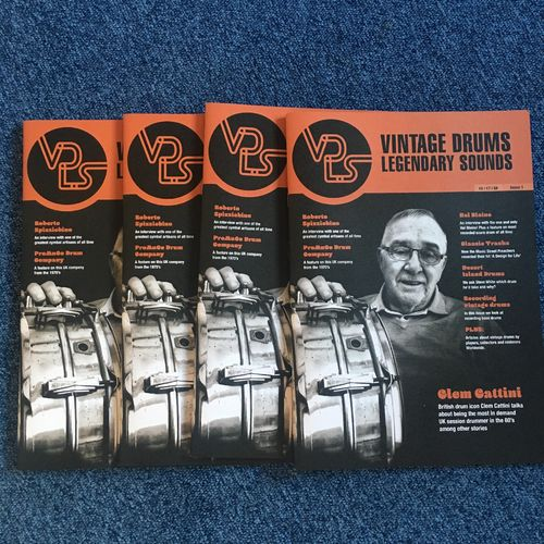 Vintage Drums Legendary Sounds Magazine Issue 1