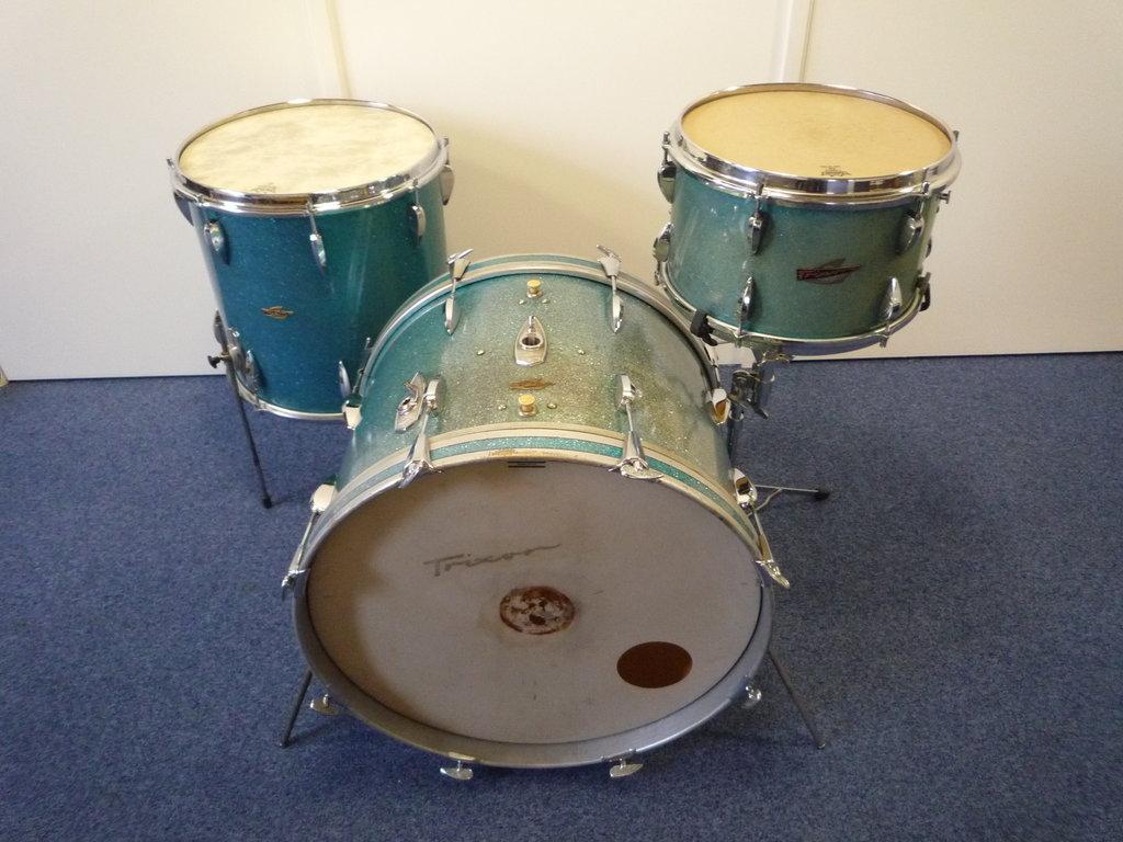 ... Trixon Luxus drumset 22