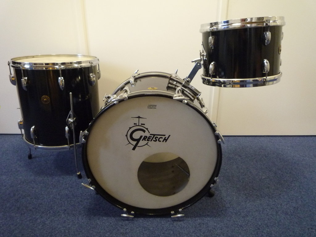 Gretsch 60/'s round badge Repro Drum Badge