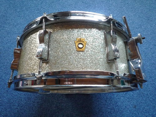 "1960 Ludwig ""Classic"" snare drum 14"" x 5,5"" Silver Sparkle"