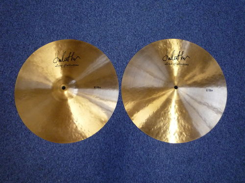 "15"" Leon Collection by Impression Hi-Hat, 1260 - 1030 grams"