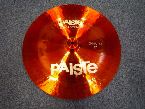 "18"" Paiste Color Sound 5 Heavy China Type, 1242 grams from 1984"