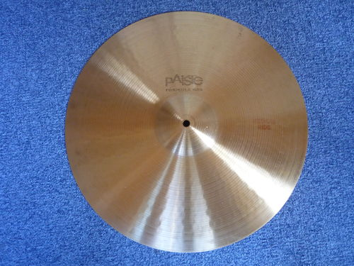 "18"" Paiste 602 Ride, 1837 grams, from 1981"