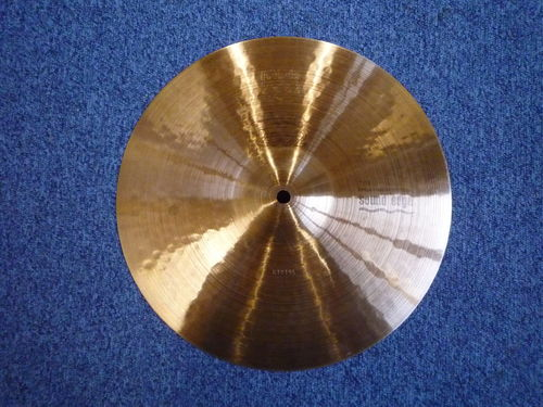 "13"" Paiste 2002 Sound Edge Top Hi-Hat cymbal from 1976"