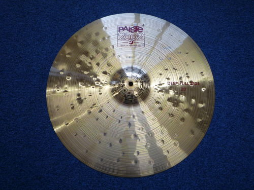 "20"" Paiste 2002 Deep Full Ride red label, NOS, 2416 grams"