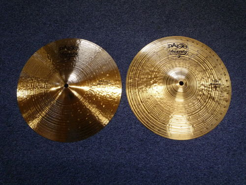 "13"" Paiste Twenty Hi-Hat NOS, 1225 and 935 grams"