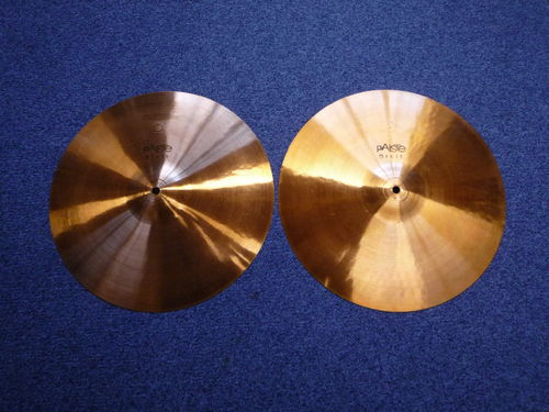 "15"" Paiste Dixie Medium Thin Hi-Hat, 737 - 725 grams from 1960's"