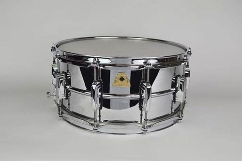 "Ludwig LM402 Supraphonic 50th Anniversary Chrome Plated Aluminum 14"" x 6,5"""