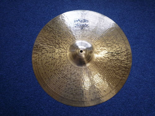 "22"" Paiste Twenty Light Ride 2656 grams"