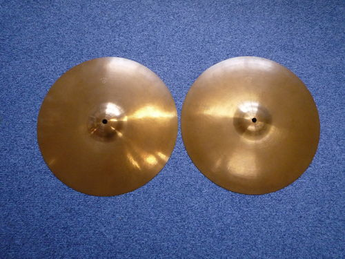 "15"" Paiste Dixie Medium Thin Hi-Hat, 711 - 706 grams from 1960's"