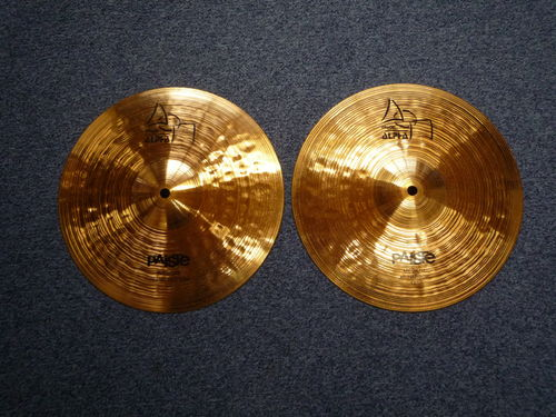 "12"" Paiste Alpha Medium Hi-Hat, 784-622 grams"