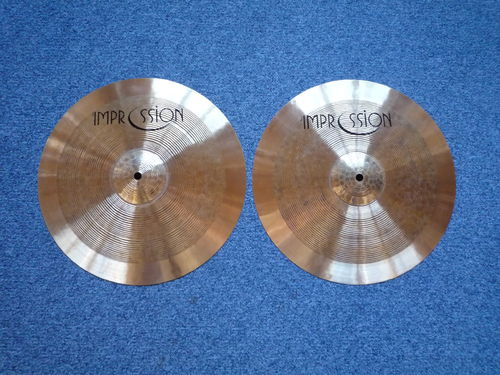 "14"" Impression Jazz Hi-Hat, 1100 and 918 grams"