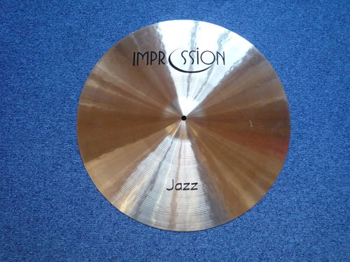 "22"" Impression Jazz Ride, 2255 grams"