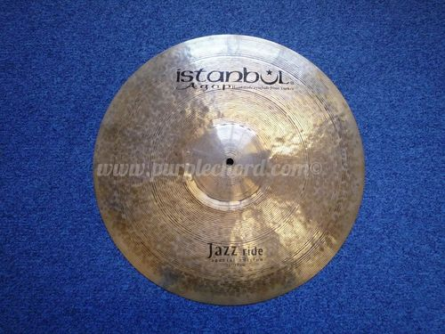 "19"" Istanbul Special Edition Jazz Ride, 1603 grams"