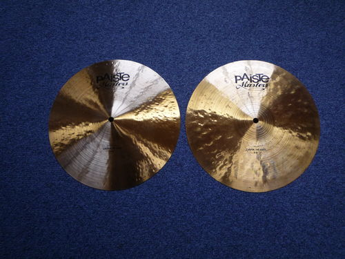 "14"" Paiste Masters Dark Hi-Hat, 1160 and 760 grams, from 2014"