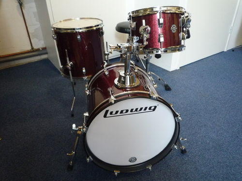 Ludwig Breakbeats by Questlove 4pc LC179X025, burgundy sparkle