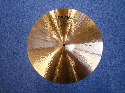 "19"" Paiste 2002 Black Big Beat, 1479 grams, from 2016"