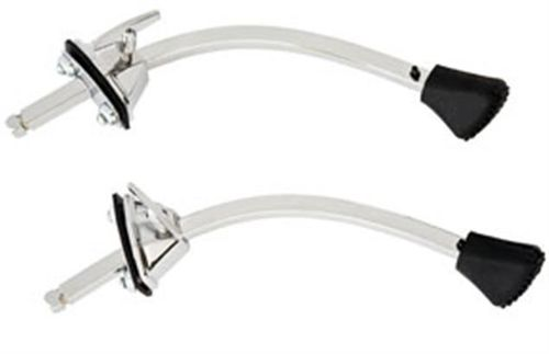 Ludwig LC1308SP Bass Drum Spurs, Classic Curved (pair)